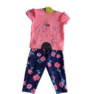 Baby Girls Kids Child of Mine & Carters Outfit